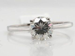 1500 10K Moissanite 0 7ct  Ring
