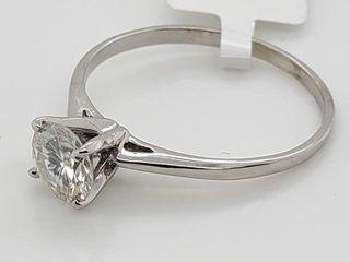 1500 10K Moissanite 0 72ct  Ring