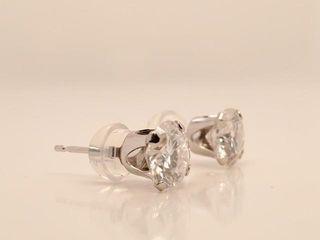 1110 10K Moissanite 1 52ct  Earrings