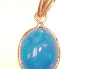 1000 14K Opal 2ct  Pendant