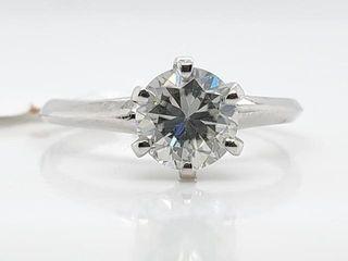 1550 10K Moissanite 0 78ct  Ring