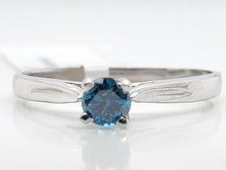 1200 10K Bluediamond 0 19Ct I1  Ring