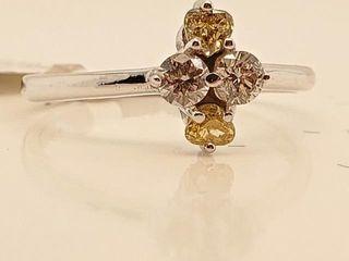2415 10K Natural Brown Diamond 0 18ct  Diamond 0
