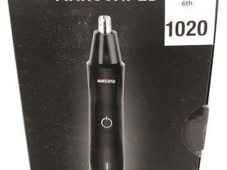 MANSCAPED ElECTRONIC NOSE AND EAR HAIR TRIMMER