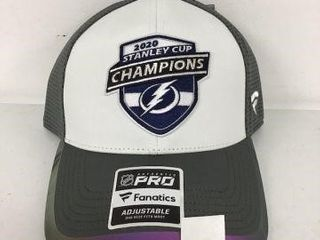 NHl STANlEY CUP CHAMPIONS HEAD CAP ONE SIZE