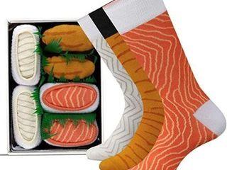 6 PAIRS METTONIX SUSHI SOCKS BOX