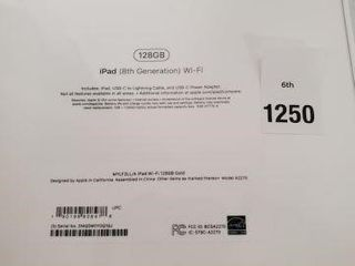 SEAlED APPlE IPAD 8TH GENERATION 128GB