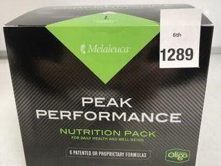 MElAlEUCA PEAK PERFORMANCE NUTRITION PACK