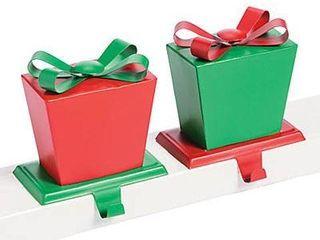 WHIMSICAl CHRISTMAS STOCKING HOlDERS