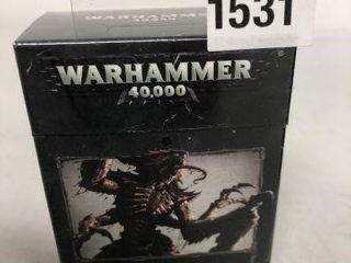 WARHAMMER DATACARDS TYRANIDS