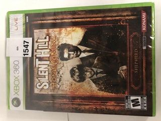 XBOX 360 SIlENT HIll HOMECOMING GAME