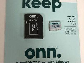 KEEP ONN MICROSDHC CARD WITH ADAPTER