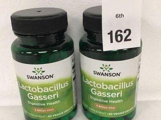 2 BOTTlES SWANSON lACTOBACIllUS GASSERI 60