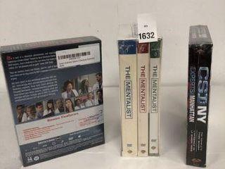 ASSORTED DVD MOVIE SET
