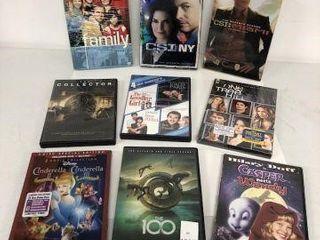 ASSORTED DVD MOVIE