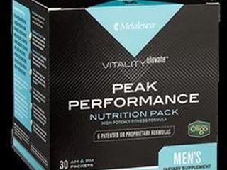 MElAlEUCA PEAK PERFORMANCE NUTRITION PACK MENS 30