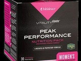 MElAlEUCA PEAK PERFORMANCE NUTRITION PACK WOMENS