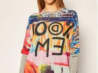 DESIGUAl WOMENS PUllOVER SIZE lARGE