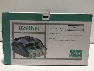 KOlIBRI AUTOMATIC BIll COUNTER