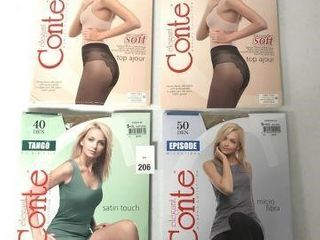 3 PCS ASSORTED ElEGANT CONTE COllECTION PANTY