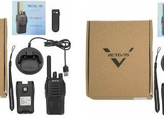 2 PCS RETEVIS TWO WAY RADIO H777
