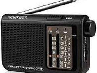 2 PCS RETEKESS BAND RADIO V117