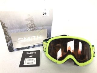 SMITH OPTICS GAMBlER SKI   SNOWBOARD GOGGlES
