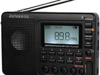 SEAlED  2PCS RETEKESS V115 AM FM SW RECEIVER