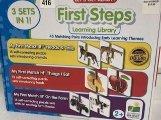 THE lEARNING JOURNEY 3 IN 1 FIRST STEP lEARNING