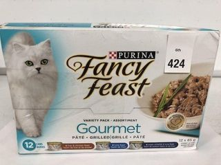 12CANS X 85GRAMS PURINA FANCY FEAST GOURMET PATE