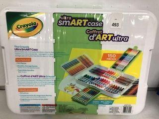 CRAYOlA UlTRA SMART CASE 150PCS ART KIT