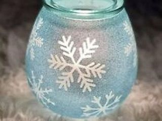 SCENTSY SCRYSTAllIZE BlUE SCENT BAR WARMER