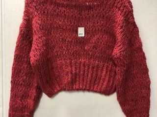 URBAN OUTFITTERS WOMENS lONG SlEEVES CROPTOP SIZE