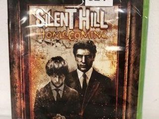 SEAlED  XBOX 360 lIVE GAME SIlENT HIll