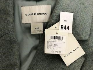 ClUB MONACO WOMEN S RElAXED DOUBlE BREASTED COAT