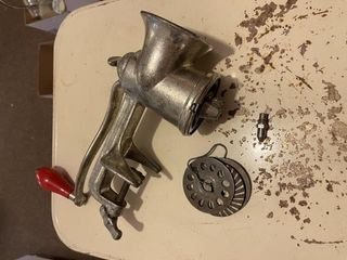 Vintage meat grinder  Dazy can opener and
