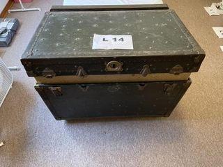 Antique steam trunk
