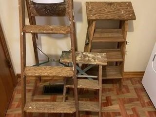 Wooden ladders 4