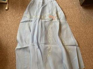 Antique girls dress handmade unknown size