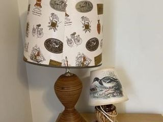 Table top lamps 2
