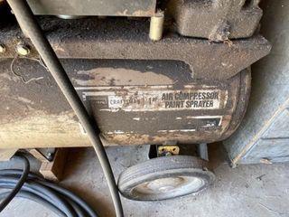 Sears Craftsman 1 HP air compressor