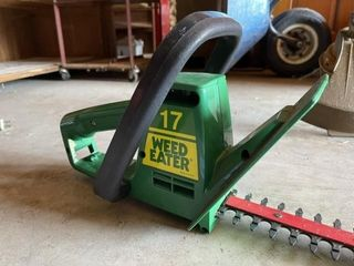 Weedeater electric hedge trimmer 17