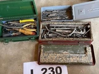 Drill bits and misc  tools