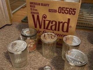Antique snuff jars 17