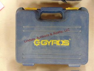 Gyros rotorary tool w  case   some attachments