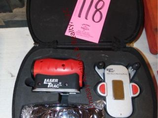 Craftsman lasertrac wall mount laser level w  case