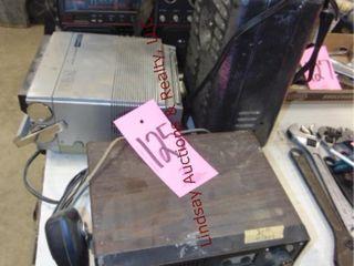 CB radio  floor heater  ElectroBrand radio