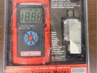 NIB Craftsman 1 2  torque meter