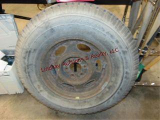 6 lug whl w Goodyear Wrangler RT S P235 75R15 tire