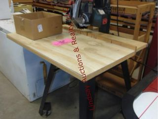 Craftsman 10  Radial saw on stand